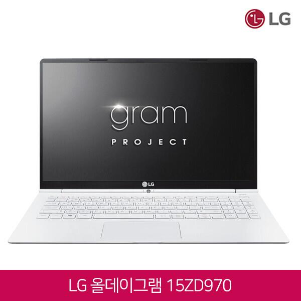 7세대 코어i5 LG 올데이그램  화이트에디션!! 15ZD970-GX50K (코어i5-7200U/램8G/SSD256G/인텔HD620/15인치FHD 1920x1080/윈도우10)