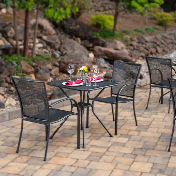 썬빌라 메쉬 테이블 (의자 미포함)