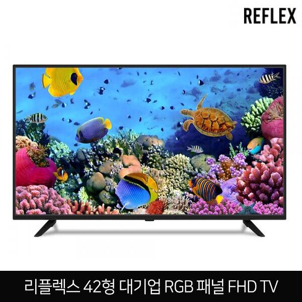 에너지효율 1등급! 리플렉스 42인치 FHD 대화면 모니터TV OSSQ420FHD (대기업 RGB패널 / 에너지효율 1등급 / 5.8kg )
