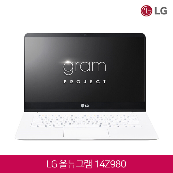 LG 올뉴그램 14Z980-HA70K (인텔 8세대 코어i7-8550U/램16G/SSD1TB/인텔UHD620/14인치FHD 터치스크린 1920x1080/윈도우10)