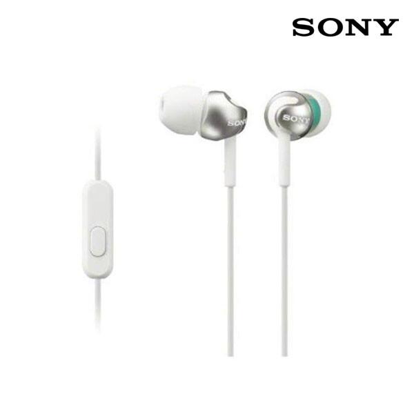 SONY 소니 커널형 이어폰 화이트 MDR- EX110AP