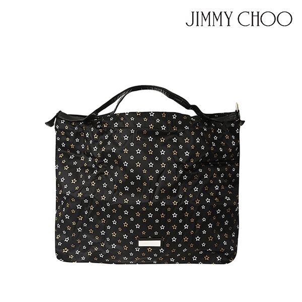 JIMMY CHOO 지미추 CAMELEON-JIN-BS-19P 토트백 (색상: BLACK/SILVER/GOLD)