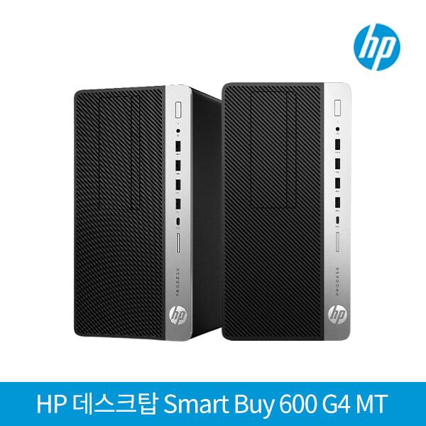 8세대 코어i5 HP컴퓨터 Smart Buy PRODESK 600 G4 MT (코어i5-8500 3.0Ghz/DDR4 8G/M.2 SSD256G + HDD500G/DVD/인텔UHD630/D-SUB+DP단자/윈도우10 pro)