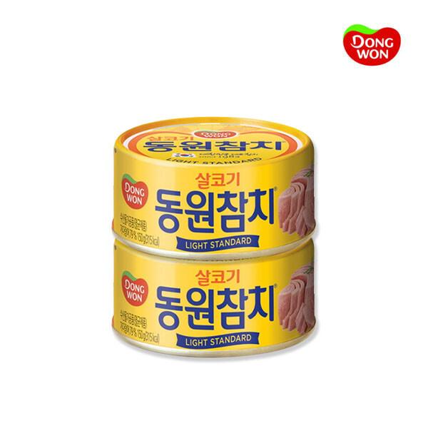 동원에프앤비 동원 살코기 참치 라이트 스탠다드 150g x 2개 (유통기한 : 2027-10-25)