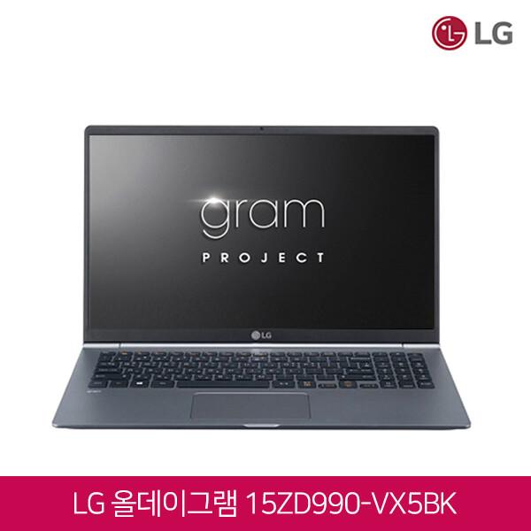 LG 그램15 15ZD990-VX5BK (코어I5-8265U/16G/SSD256G+SSD256G/인텔UHD620/15인치 1920X1080 FHD/윈도우10)