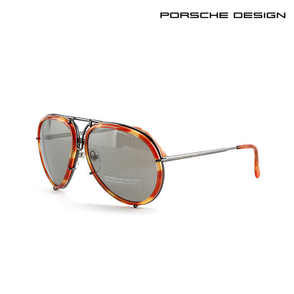 PORSCHE DESIGN 포르쉐 디자인 선글라스 P8613D (면세점 재고 / 추가 렌즈 미포함)