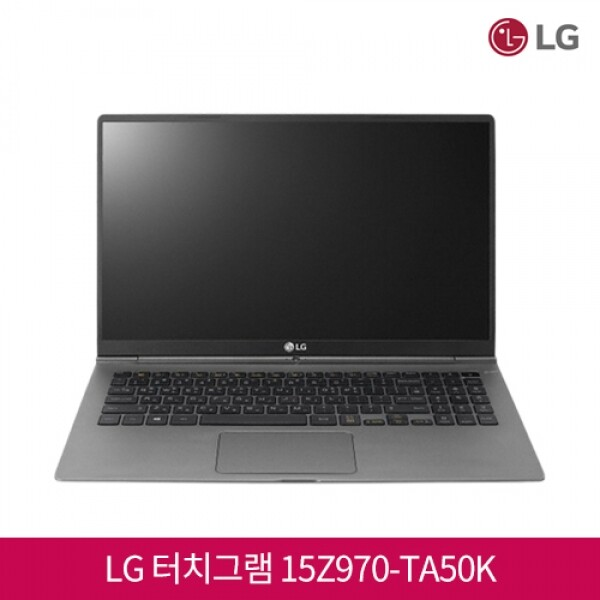 7세대 코어i5 LG 올데이 터치그램 15Z970-TA50K (코어i5-7200U/램8G/SSD512G/인텔HD620/15인치FHD 터치스크린 1920x1080/윈도우10)