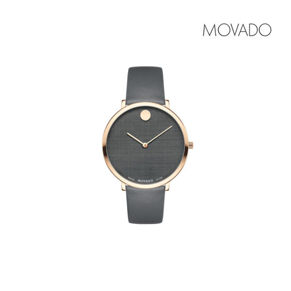 MOVADO 모바도 모던 퀴츠 여성 명품 시계 0607404