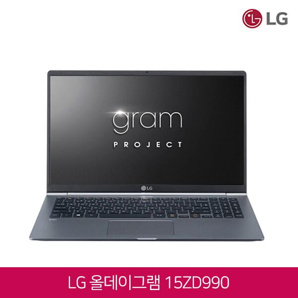 8세대 코어i7 LG그램 15ZD990-VX7BK (코어i7-8565U/램16G/SSD256G/인텔UHD620/15인치FHD 1920x1080/윈도우10)