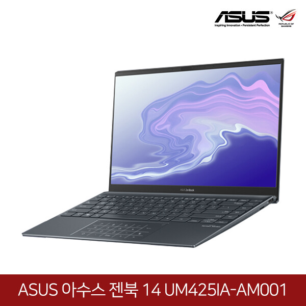 ASUS 젠북14 UM425IA-AM001 (라이젠5 4500U/램8G/SSD512G/AMD라데온그래픽/14인치FHD 1920x1080/윈도우PRO)
