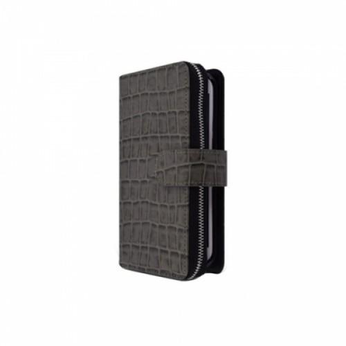 로아 크로커 지퍼케이스 S6엣지 (G925 카키)