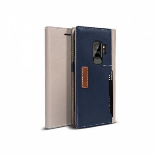 오블릭 K3월렛 휴대폰 케이스 갤럭시S9 (머드그레이 네이비)