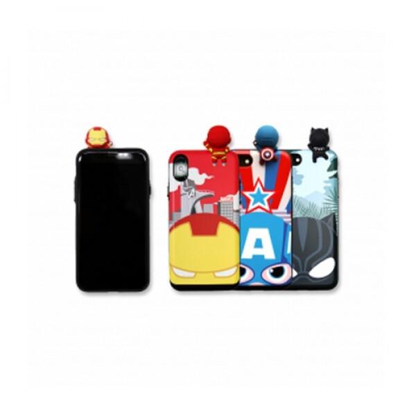 마블 피규어 슬라이드 카드 아이언맨 핸드폰케이스 갤럭시와이드2 (J7 2017)