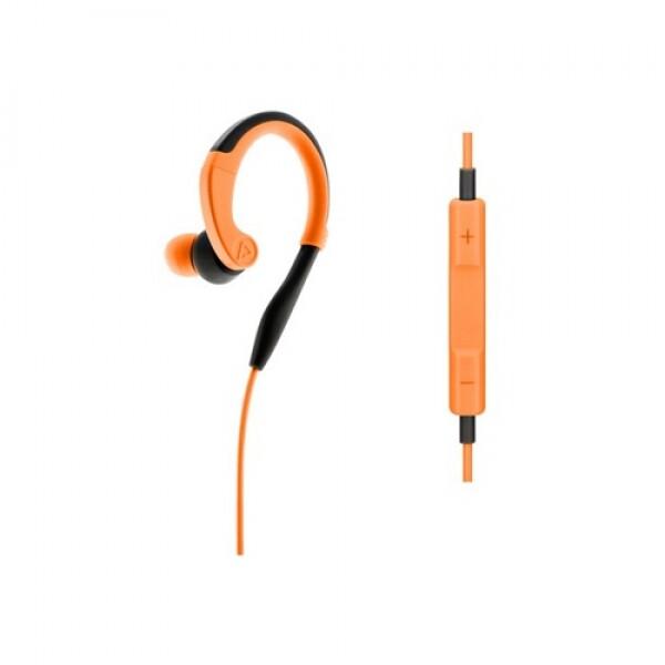 PISEN R100 Hi-Fi 유선 스포츠 이어폰 애플 전용 (오렌지)