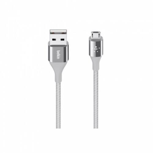 벨킨 듀라텍 마이크로5핀 USB 충전케이블 (실버)