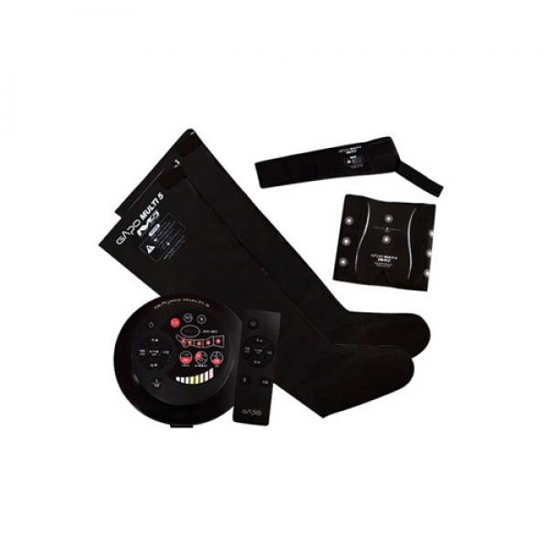 가포넷 가포 멀티5 공기압 다리마사지기 풀세트 (블랙)