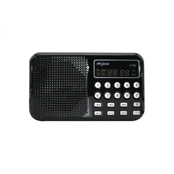 MPIO V100 다기능보이스레코더 (블랙)