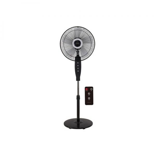 유니맥스 UMS-3062R 키높이 리모콘 스탠드 선풍기 블랙