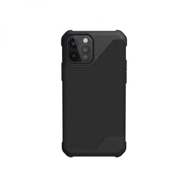 UAG 아이폰 12/12 프로 메트로폴리스 LT 케이스-아머파이버 블랙