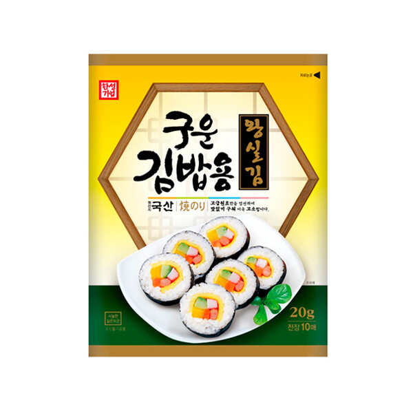 한성 구운김밥용왕실김 20g (실온보관/유통기한 제조일로부터 12개월)