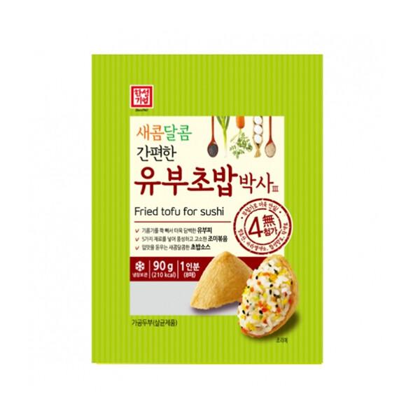 한성 유부초밥박사 90g (냉장보관/유통기한 제조일로부터 3개월)