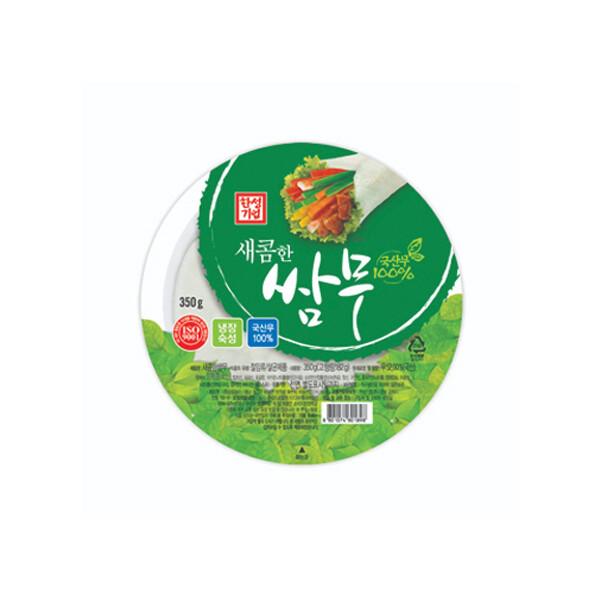 한성 새콤한 쌈무 350g (상온보관/유통기한 제조일로부터 6개월)