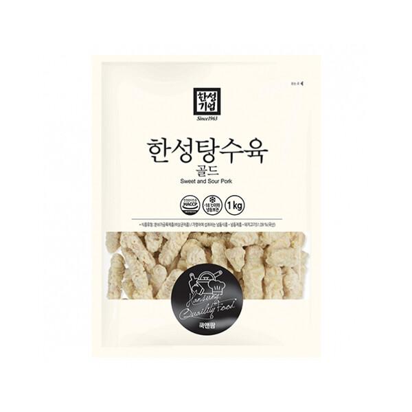 한성 탕수육 골드 1kg (냉동보관/유통기한 제조일로부터 9개월)