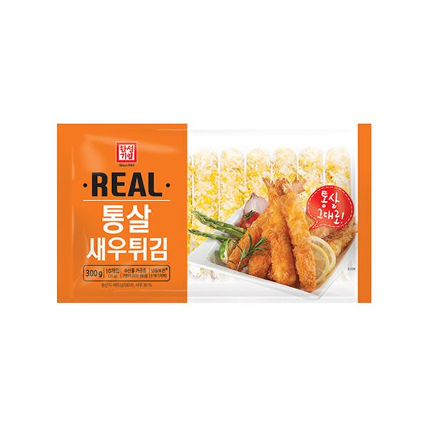 한성 리얼통살새우튀김 300g (냉동보관/유통기한 제조일로부터 24개월)