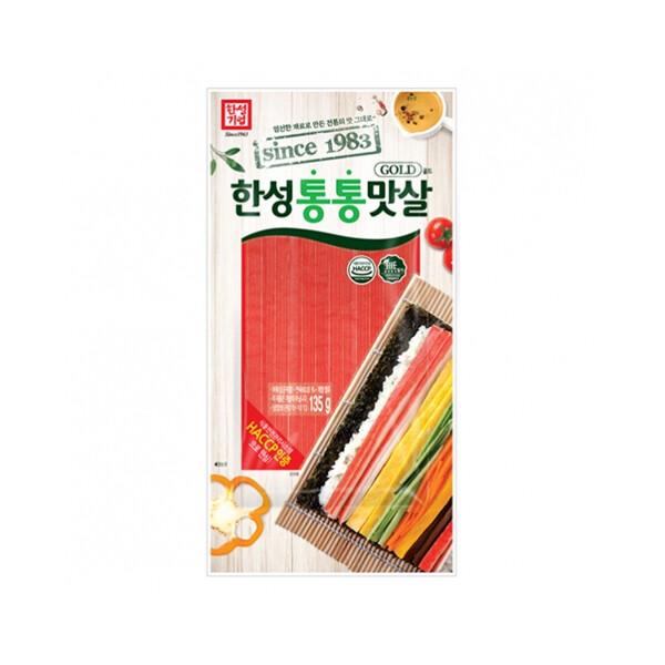 한성 통통맛살골드 135g (냉장보관/유통기한 제조일로부터 25일)