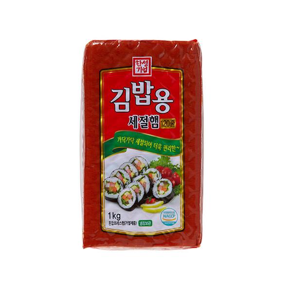 한성 김밥용세절햄 1kg (냉장보관/유통기한 제조일로부터 30일)