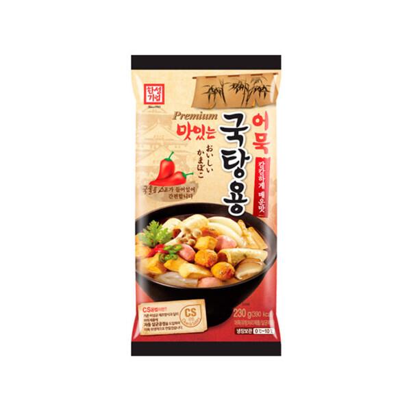 한성 맛있는 국탕용 어묵 매운맛 230g (냉장보관/유통기한 제조일로부터 30일)