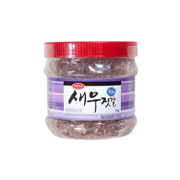 한성 국산 새우젓갈 1kg (냉장보관/유통기한 제조일로부터 6개월)