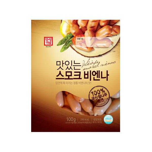 한성 맛있는스모크비엔나 100g (냉장보관/유통기한 제조일로부터 30일)