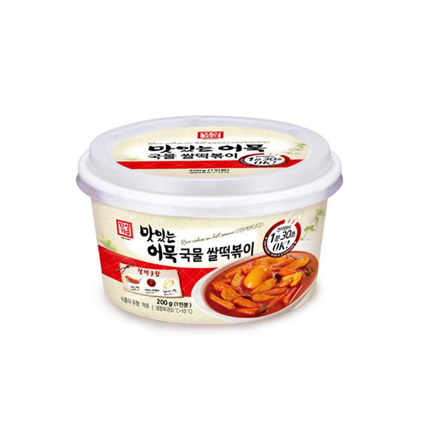 한성 맛있는 어묵 국물 쌀떡볶이 200g (냉장보관/유통기한 제조일로부터 40일)