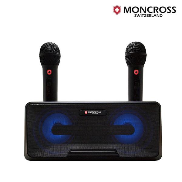 몽크로스 MSDM-K1010 블루투스 듀엣 노래방마이크 2개 듀얼 무선마이크