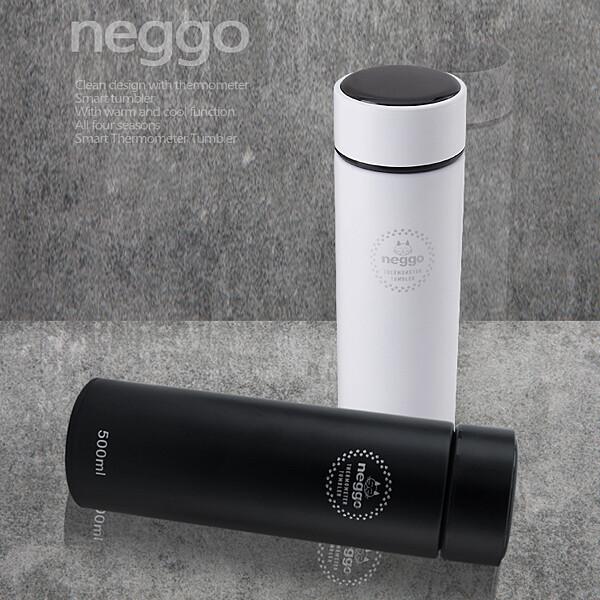 NEGGO 스마트 온도 텀블러 (블랙, 화이트)