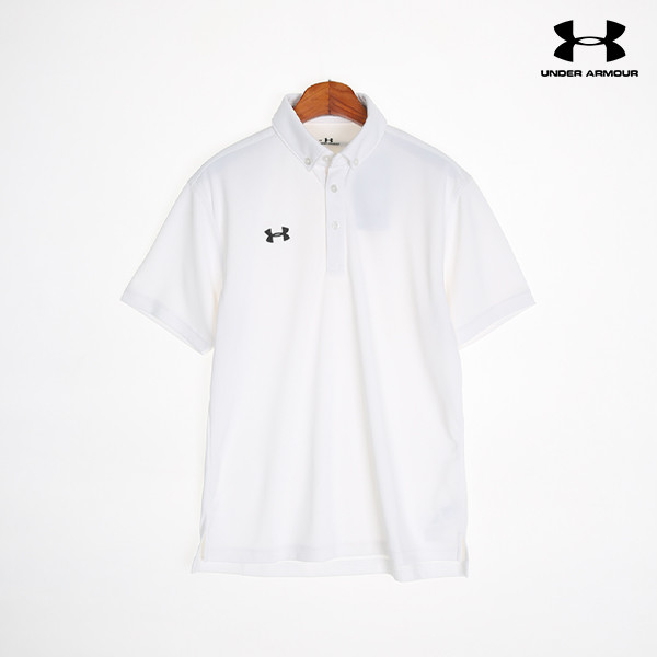 언더아머 남성 PK 반팔 티셔츠 TEAM UA BUTTON-DOWN POLO SHIRT(2color