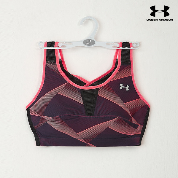 언더아머 여성 브라탑 UA ACTIVE BRA 2 PRINT C/D(2color