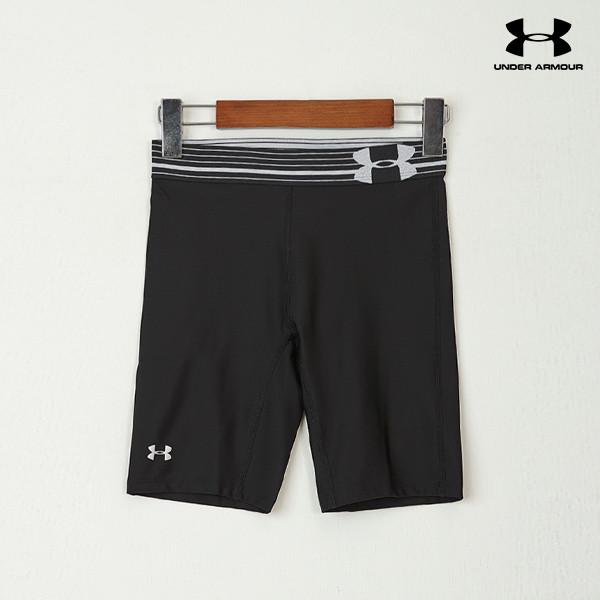 언더아머 여성 쇼츠 UA HEATGEAR ALPHA LONG SHORTS(2color