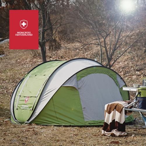 스위스 몽크로스 원터치 텐트 5~6인용