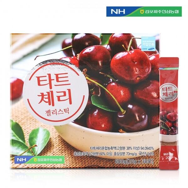 김포파주인삼농협 타트체리 젤리스틱 20g x 30포(쇼핑백 포함)