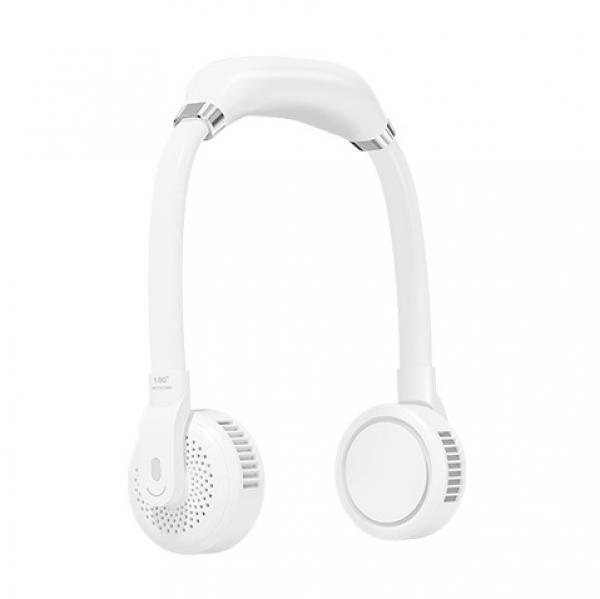 스미다 목걸이형 넥밴드형 하이드팬 휴대용 선풍기 SMD-S28000 (화이트)