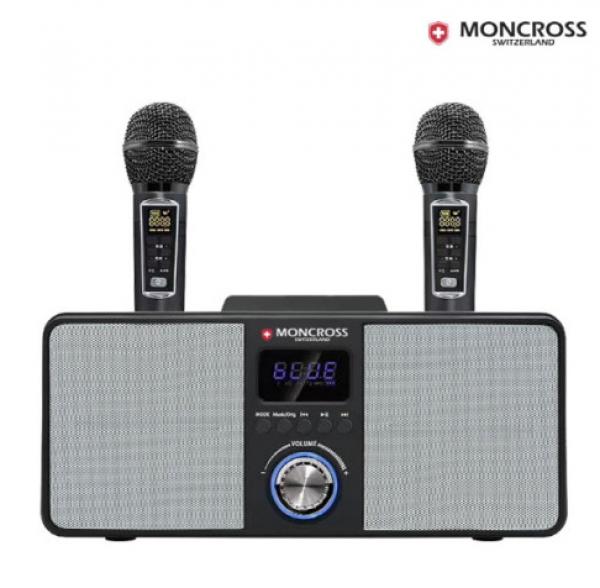 몽크로스 휴대용 블루투스 스피커 노래방 마이크 MSDM-K3000