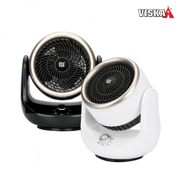 비스카 써큘레이터 팬 히터 HNZ-E550SAH 화이트