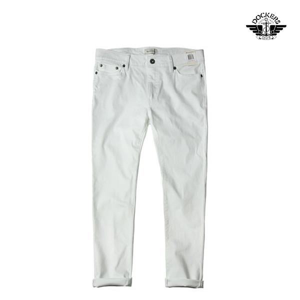 LEVI'S Dockers 리바이스 다커스 엘라스틴진 Fix Skinny Jeans white denim_리씽크팀