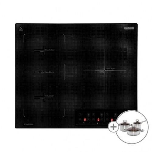 [스타리온] 3구 인덕션 SE-JD648TSW 전기렌지 전기레인지 + 사은품