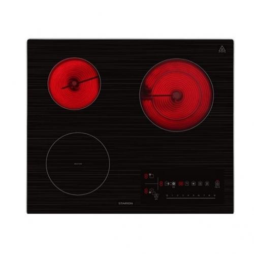 [스타리온] 3구 하이브리드 SE-GB659SLC 전기렌지 전기레인지 인덕션 하이라이트