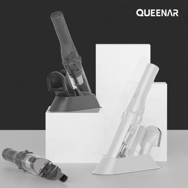 퀸나 브리즈 다용도 무선 청소기 QNCV-N6000W (화이트,그레이)