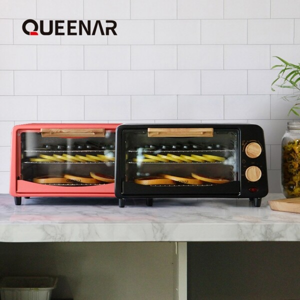 퀸나 에어플로우 다이얼 식품 건조기 QMFD-7000 (코랄,블랙)