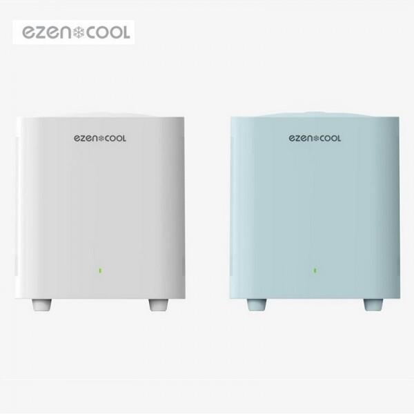 이젠쿨 냉장 음식물 처리기 화이트/민트 EZC-0001